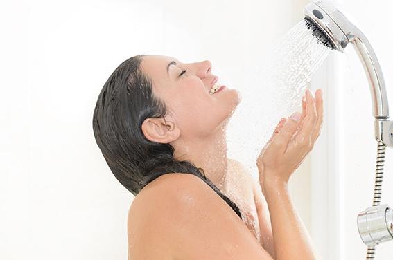 壁挂炉热水洗浴