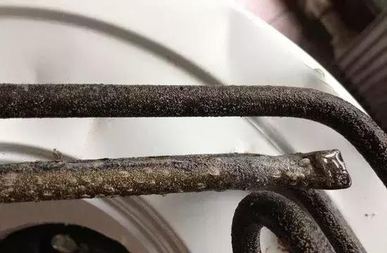壁挂炉内部结垢
